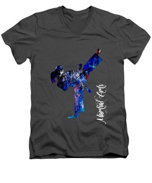 Martial Arts Collection Men's V-Neck T-Shirt
