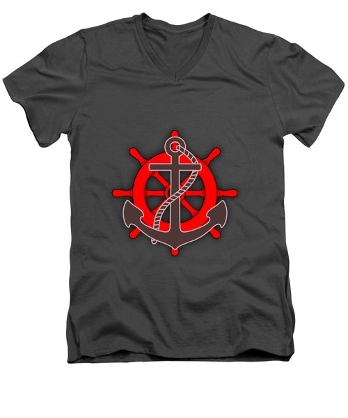 Nautical Collection Men's V-Neck T-Shirt