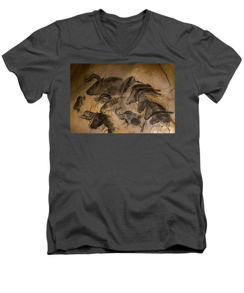 Chauvet Men's V-Neck T-Shirt