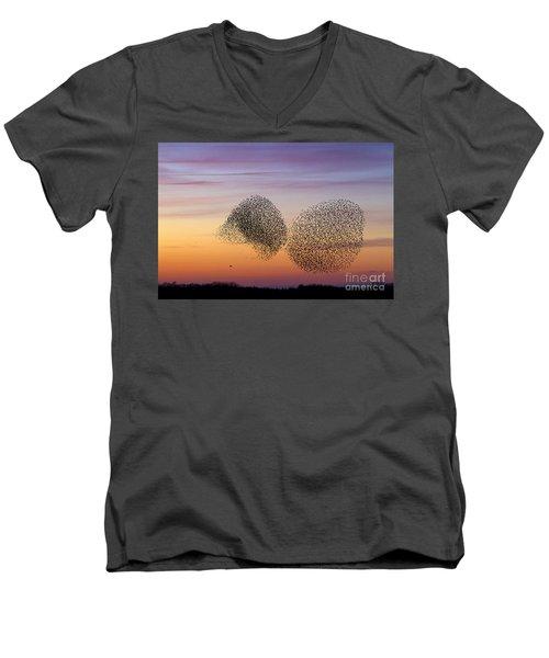 150501p254 Men's V-Neck T-Shirt