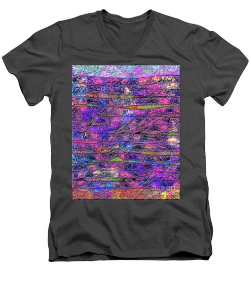 1531 Abstract Thought Men's V-Neck T-Shirt