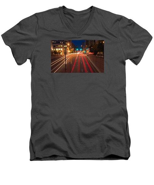 15th Street Men's V-Neck T-Shirt