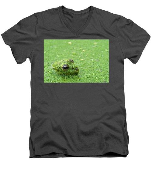 Camouflage Men's V-Neck T-Shirt