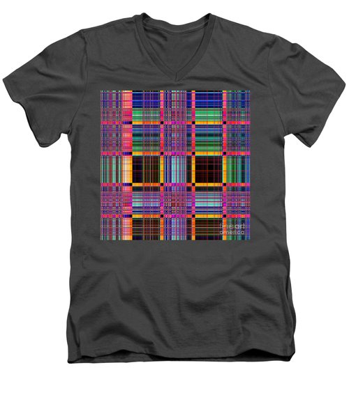 1672 Abstract Thought Men's V-Neck T-Shirt