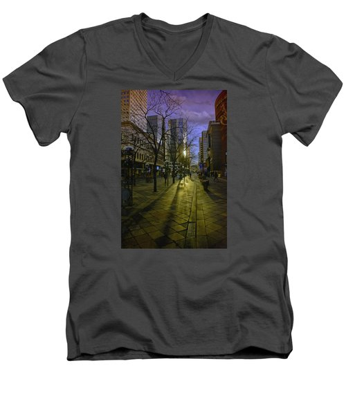 16th Street Mall Men's V-Neck T-Shirt