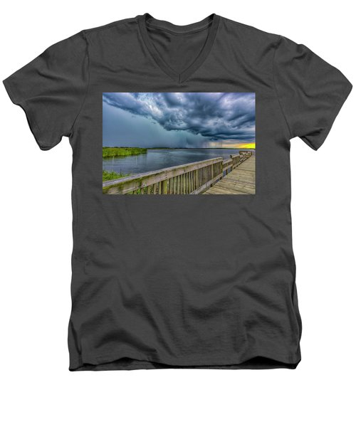Storm Watch Men's V-Neck T-Shirt