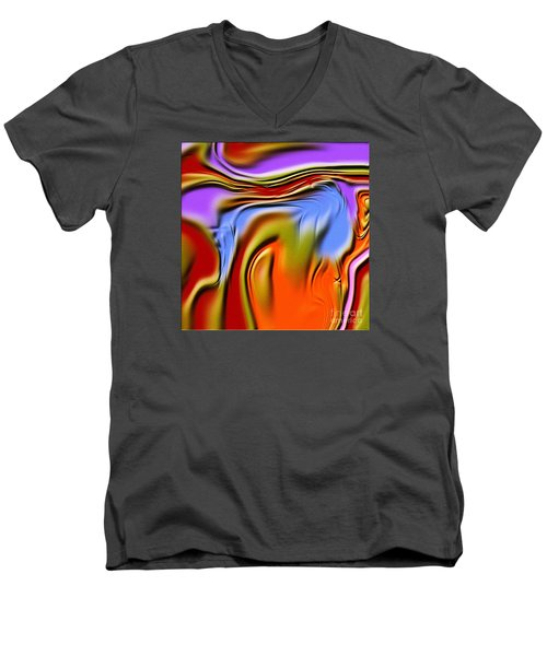 1765 Abstract Thought Men's V-Neck T-Shirt