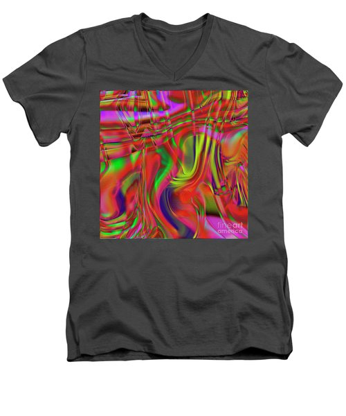 1799 Abstract Thought Men's V-Neck T-Shirt