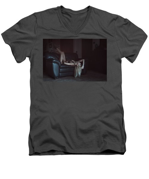 Men's V-Neck T-Shirt featuring the photograph .. by Traven Milovich