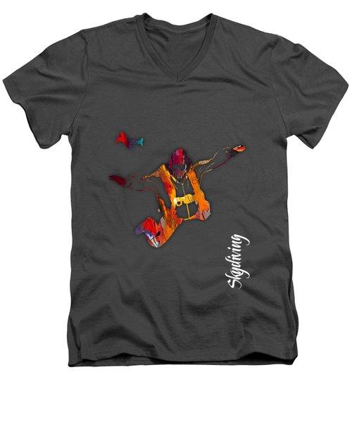 Skydiving Collection Men's V-Neck T-Shirt