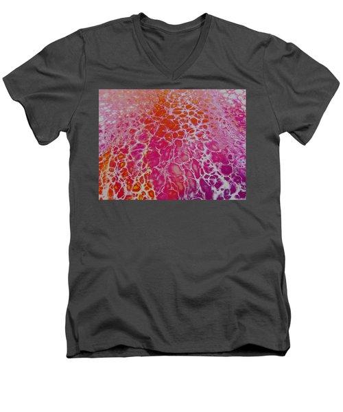 #18 Men's V-Neck T-Shirt