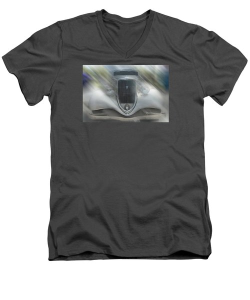 1934 Ford Coupe Men's V-Neck T-Shirt by Louis Ferreira