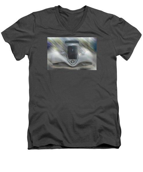 1934 Ford Coupe Men's V-Neck T-Shirt