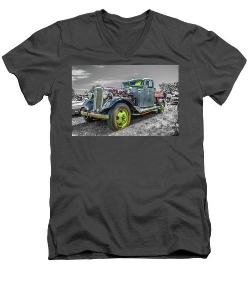 1936 Chevrolet Men's V-Neck T-Shirt