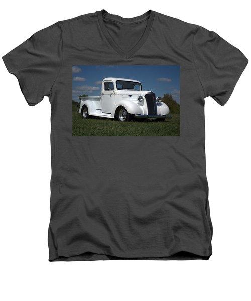 1937 Chevrolet Pickup Truck Men's V-Neck T-Shirt