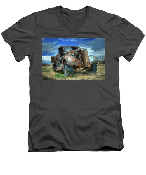 1937 Chevrolet Men's V-Neck T-Shirt