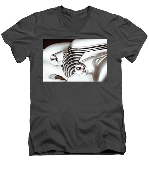 1938 Hispano-suiza H6b Xenia Front Men's V-Neck T-Shirt by Wade Brooks
