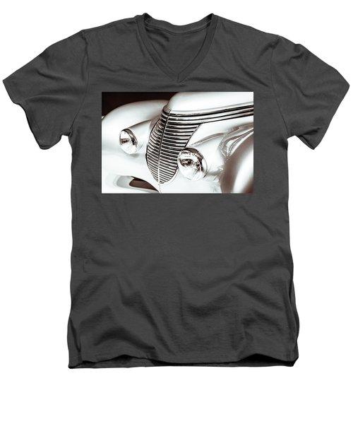 1938 Hispano-suiza H6b Xenia Front Men's V-Neck T-Shirt by Wade Brooks