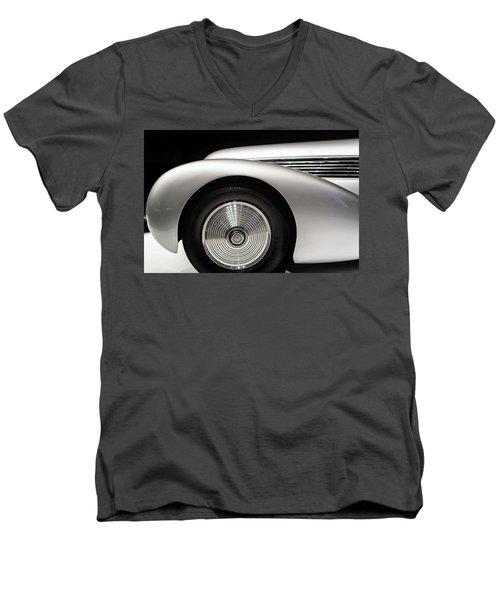 1938 Hispano-suiza H6b Xenia Men's V-Neck T-Shirt by Wade Brooks