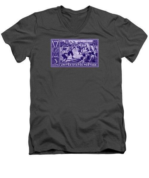 1939 Baseball Centennial Men's V-Neck T-Shirt by Historic Image