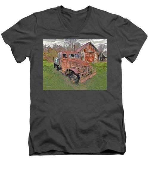1941 Dodge Truck #2 Men's V-Neck T-Shirt
