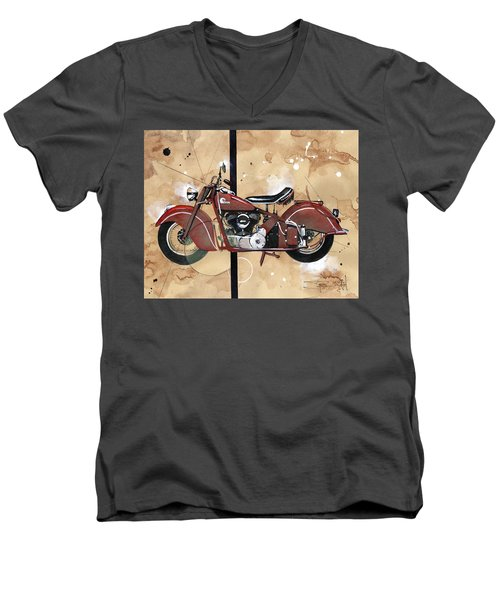 1946 Chief Men's V-Neck T-Shirt