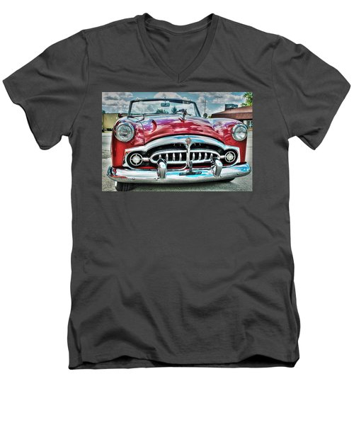 1952 Packard Men's V-Neck T-Shirt