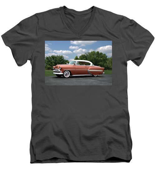 1953 Chevrolet Men's V-Neck T-Shirt