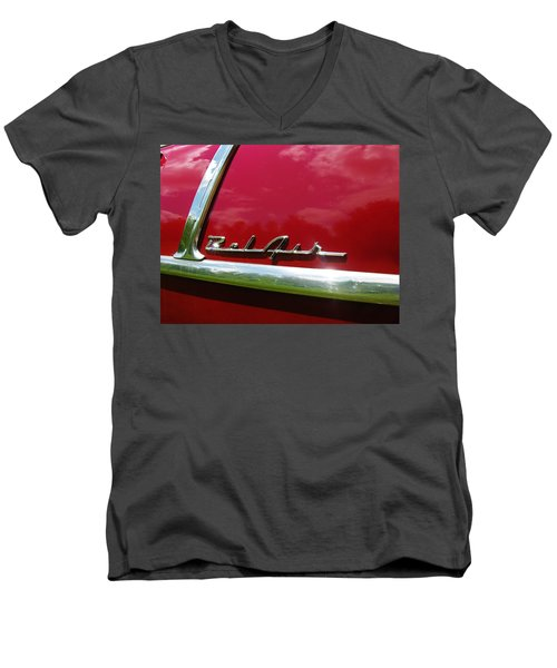 1955 Belair Men's V-Neck T-Shirt