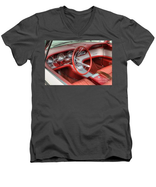1962 Thunderbird Dash Men's V-Neck T-Shirt
