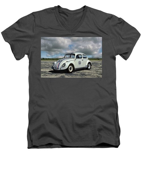 1964 Vw Herbie  Men's V-Neck T-Shirt