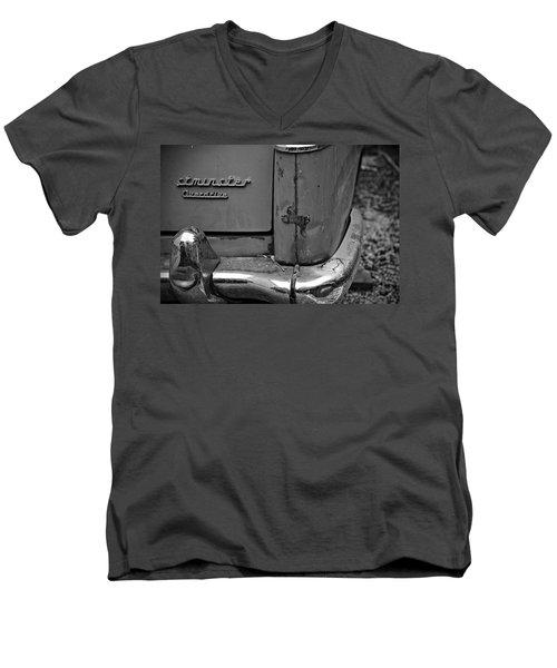 1964 Austin Westminster - Detail Men's V-Neck T-Shirt by Cendrine Marrouat