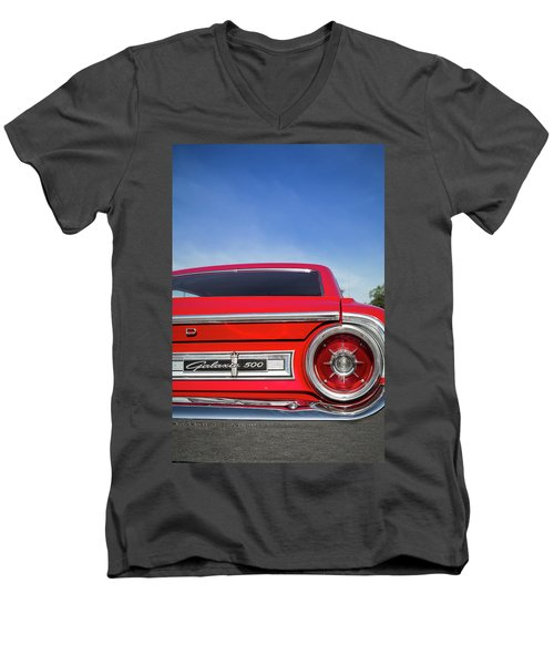 1964 Ford Galaxie 500 Taillight And Emblem Men's V-Neck T-Shirt