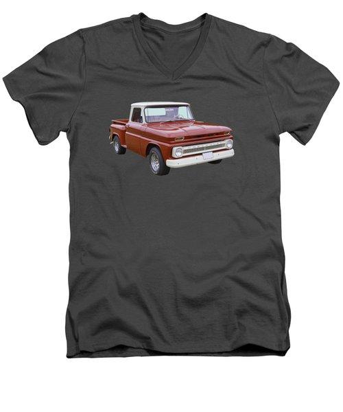 1965 Chevrolet Pickup Truck Men's V-Neck T-Shirt
