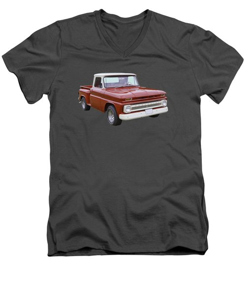 1965 Chevrolet Pickup Truck Men's V-Neck T-Shirt