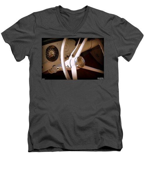 1966 Ford F100 Interior Men's V-Neck T-Shirt