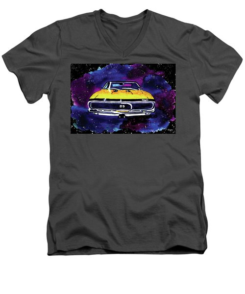1967 Chevy Camaro Ss Men's V-Neck T-Shirt