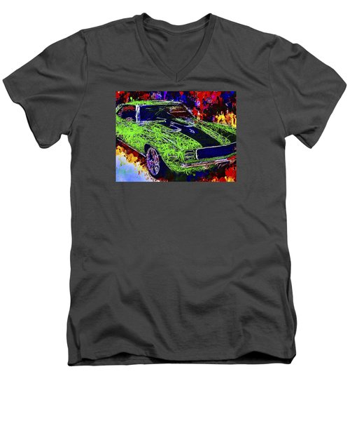 1969 Camaro Z28 Men's V-Neck T-Shirt