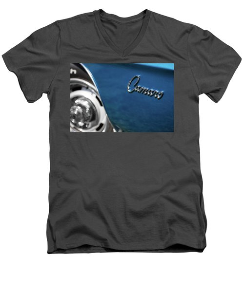 1969 Chevrolet Camaro Z28 Emblem Men's V-Neck T-Shirt