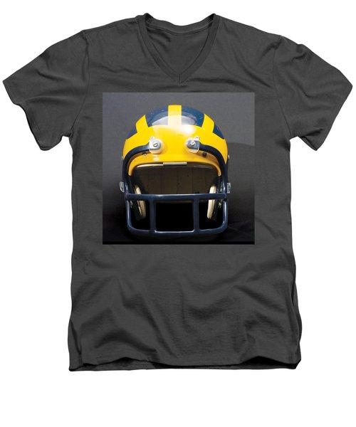 1970s Wolverine Helmet Men's V-Neck T-Shirt
