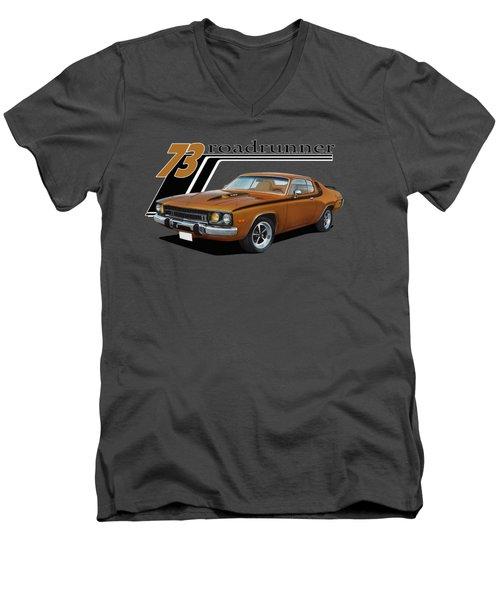 1973 Roadrunner Men's V-Neck T-Shirt