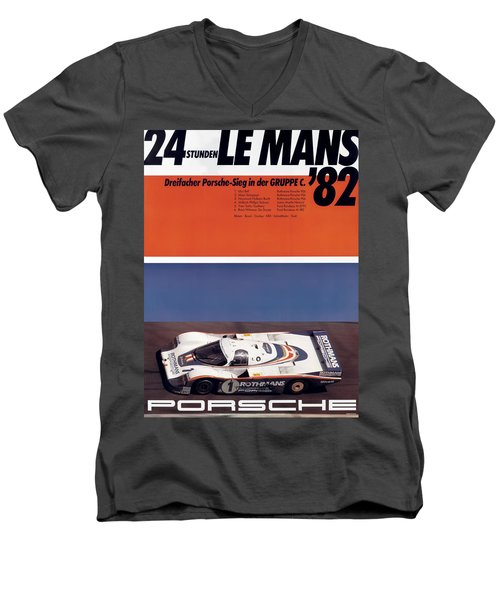 1982 24hr Le Mans Men's V-Neck T-Shirt