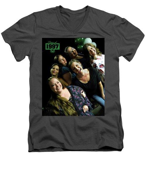 1997 Class Reunion Group 1 Men's V-Neck T-Shirt
