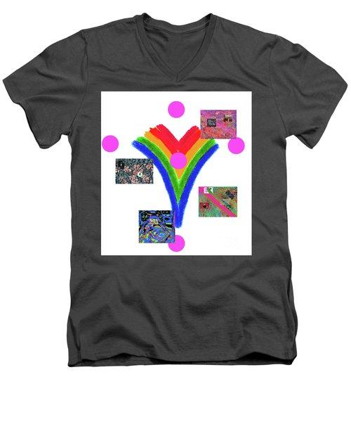 2-26-2057c Men's V-Neck T-Shirt