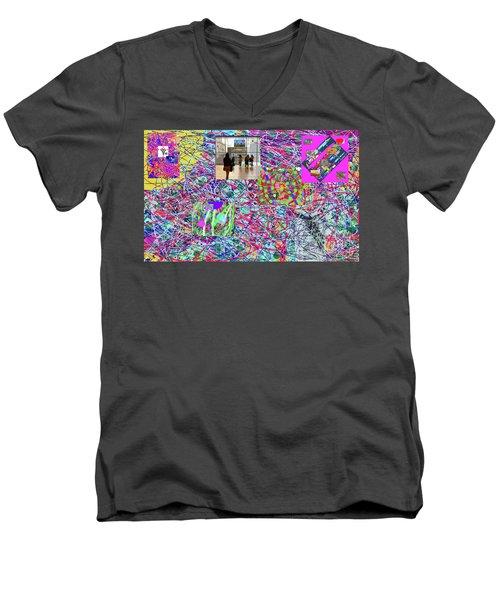 2-4-2057h Men's V-Neck T-Shirt