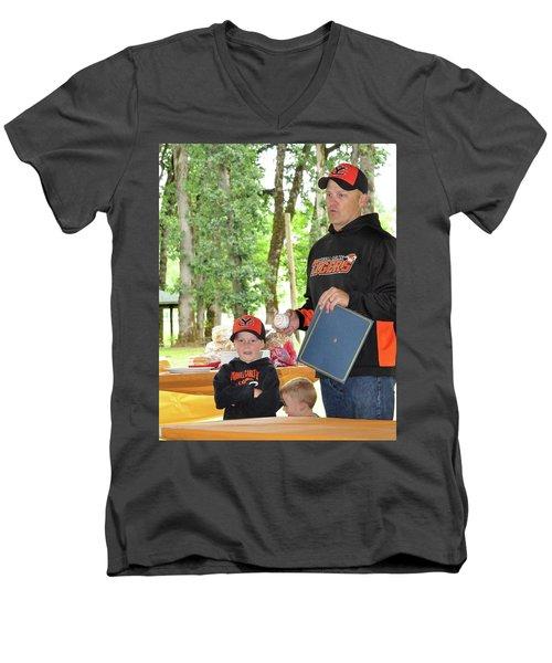 9792 Men's V-Neck T-Shirt