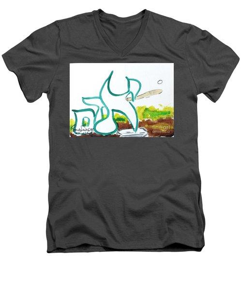 Adam Nm1-16 Men's V-Neck T-Shirt