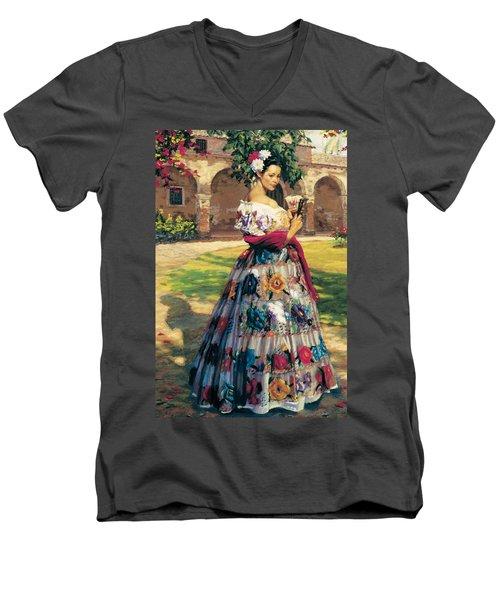 Al Aire Libre Men's V-Neck T-Shirt