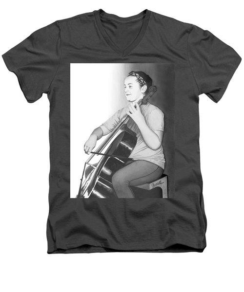 Alaina Men's V-Neck T-Shirt