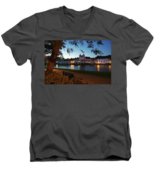 Men's V-Neck T-Shirt featuring the photograph Alcacer Do Sal by Carlos Caetano